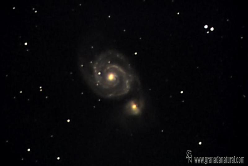 Galaxia del remolino