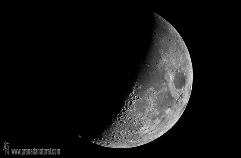 Ocultacion de Saturno por la Luna