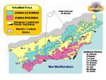 Zonas Externas Internas Cordillera Bética