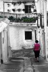 Capileira y sus calles.Arquitectura alpujarre�a