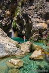 Rio Verde ( Otívar). Cascada de la Y