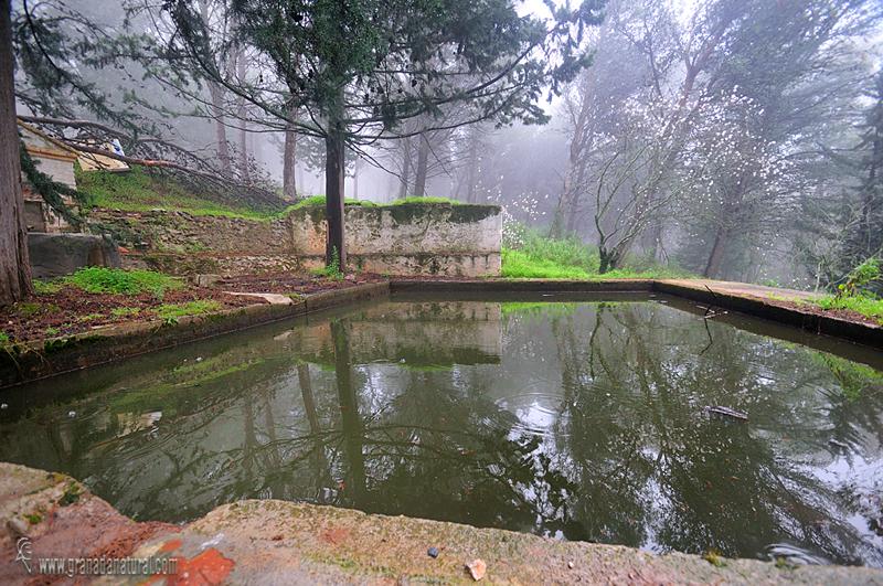 Granada natural alberca del cortijo alcntara en la sierra for Alberca para riego