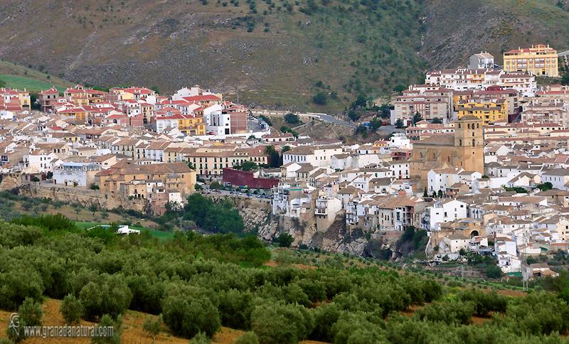 Granada Natural Alhama De Granada Desde Cortijo Piedras   Banos De Alhama  De Granada .