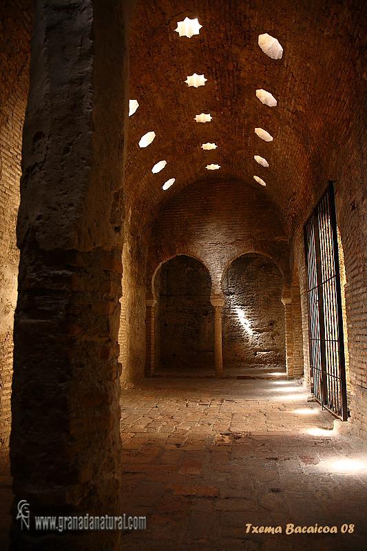El Bañuelo. Baños publicos arabes del siglo XI en Granada