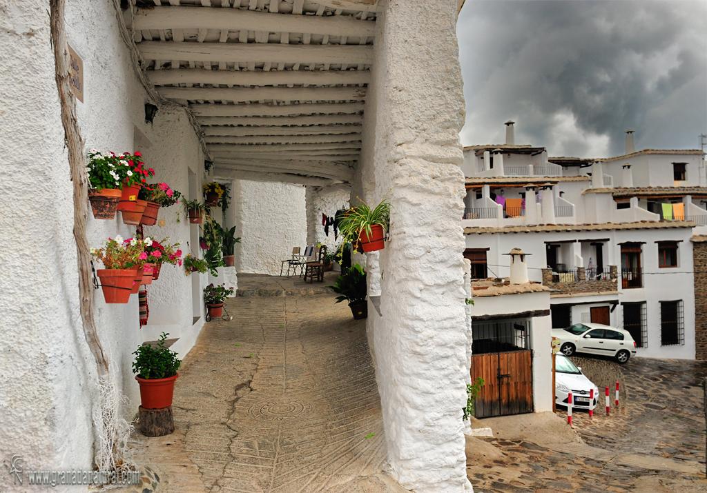 Capileira. arquitectura alpujarreña