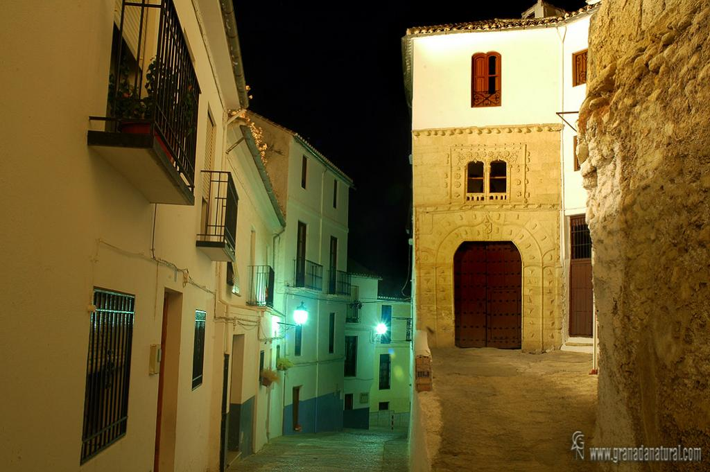 Casa de la Inquisición ( Alhama de Granada). Paisajes urbanos de Granada.