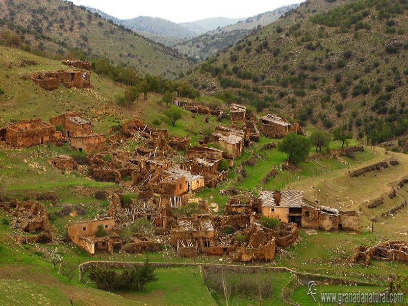 granada natural aldea minera del tesorero sierra de baza