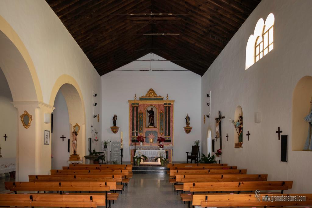 Iglesia de san Roque, Alforno. Contraviesa granadina