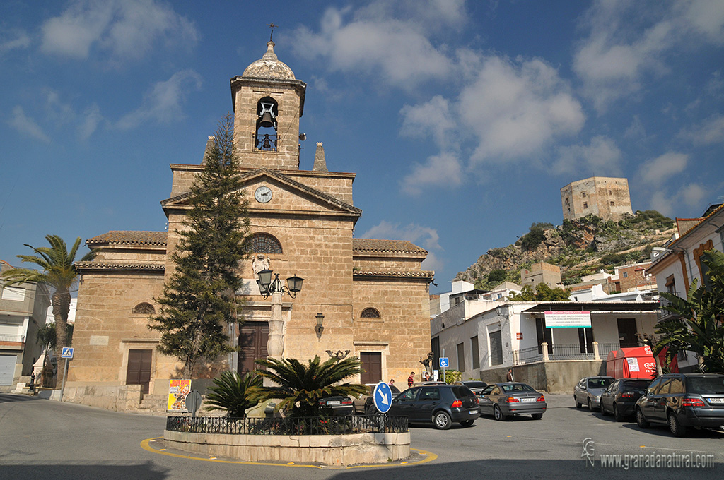 Iglesia del Rosario de Vélez de Benaudalla