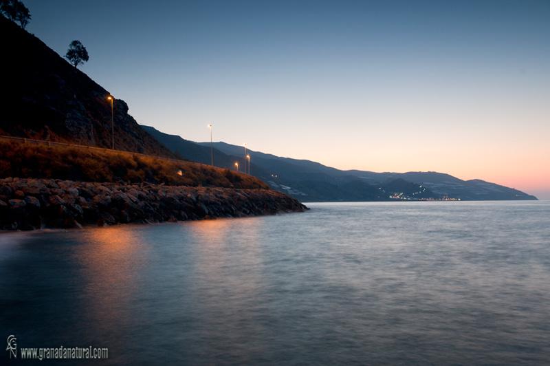 Melicena desde la Mamola ( Costa de Levante de Granada)