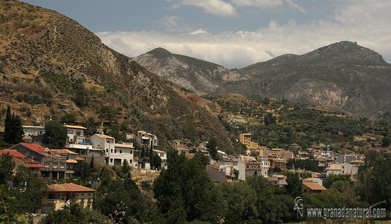 Monachil (vista parcial). Pueblos de Granada