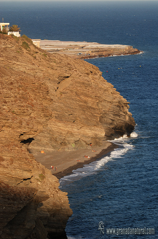 Playa naturista del Ruso (La Rábita)