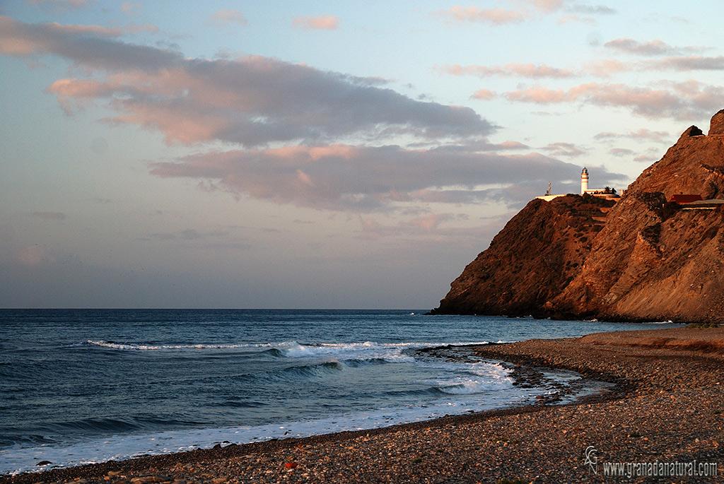 La Chucha y el Faro de Sacratif ( Motril)