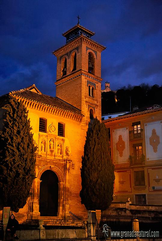 Granada natural iglesia de san gil y santa ana granada - Santa ana granada ...
