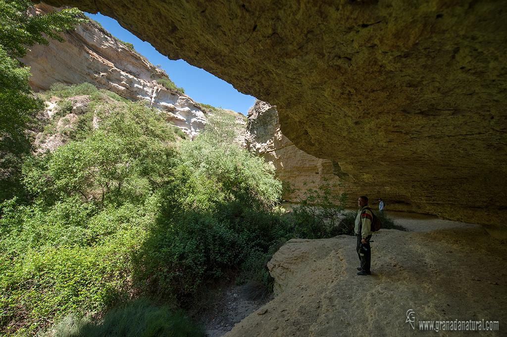 Tajos del rio Cacín.  Rutas con encanto de Granada.
