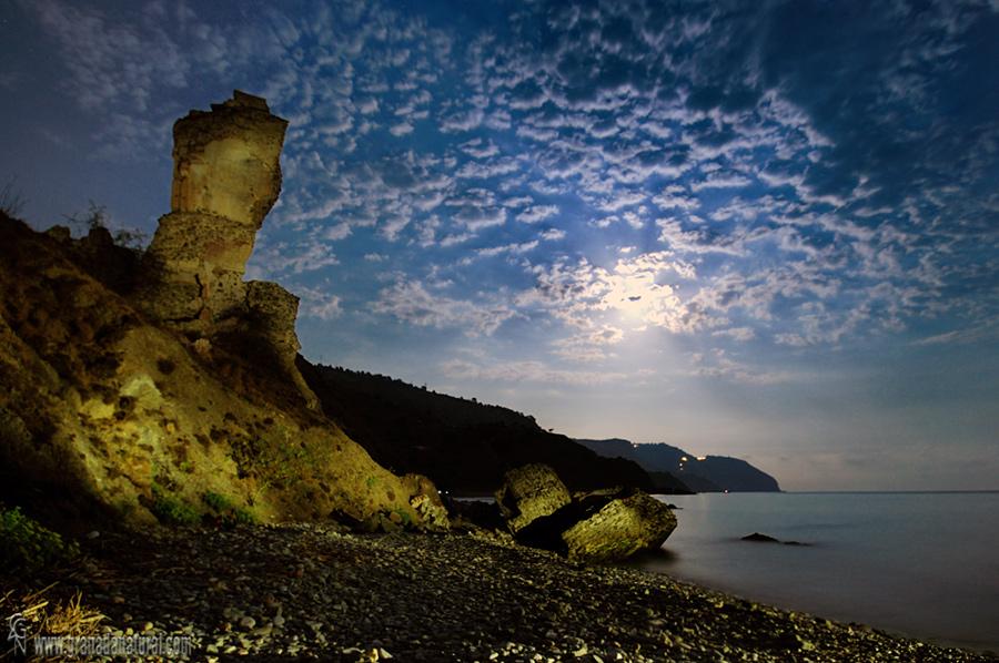 Playa de la torre del molino de Papel